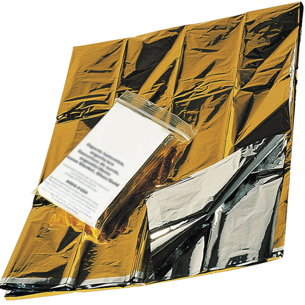 Coperta isotermica oro argento d 39 emergenza 210x160cm for Piani di coperta autoportanti