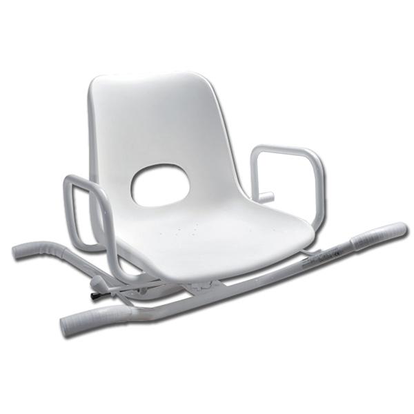 Sedia sedile per vasca da bagno girevole 360 4 posizioni - Sedia girevole per vasca da bagno ...