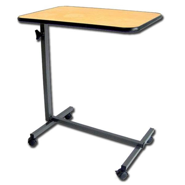 Vassoio tavolino servitore da letto in legno su 4 ruote con freno - Tavolo da letto ...