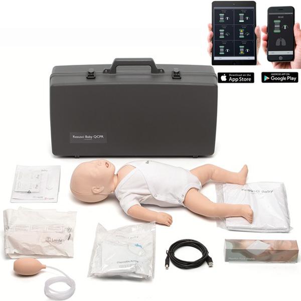 Manichino bls rcp simulatore resusci baby qcpr con borsa for Simulatore arredamento