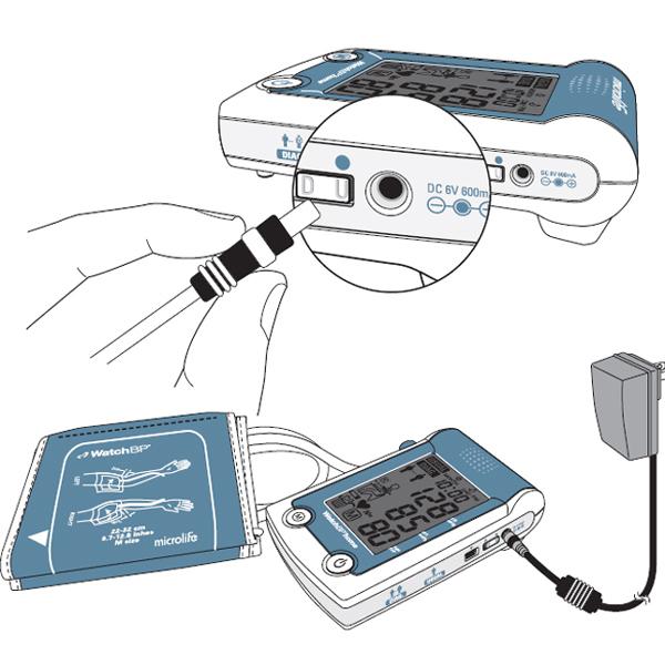 Adattatore rete per misuratori di pressione microlife dc 6v - Kit misuratore di pressione e portata idranti prezzo ...