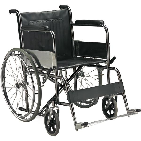 sedia a rotelle carrozzina pieghevole standard