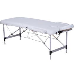 Tavolo Massaggio Pieghevole.Lettino Pieghevole Portatile Regolabile Per Massaggio In Alluminio A 2 Sezioni Portata 200kg Vari Colori