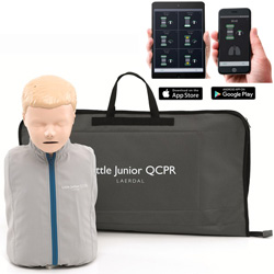 MANICHINO BLS RCP BAMBINO LAERDAL LITTLE JUNIOR QCPR