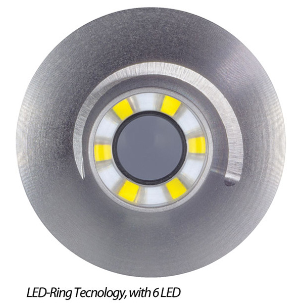 OTOSCOPIO LUXAMED AURIS LED 2,5V - colori vari