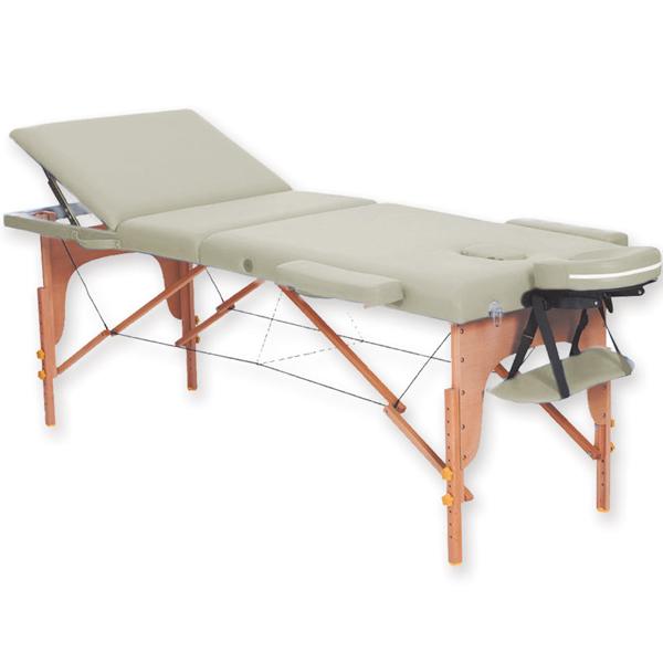Lettino Pieghevole Per Massaggio.Lettino Pieghevole Portatile Regolabile Per Massaggio In Legno A 3