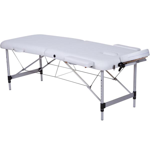 Lettino Per Massaggio Trasportabile.Lettino Pieghevole Portatile Regolabile Per Massaggio In Alluminio A