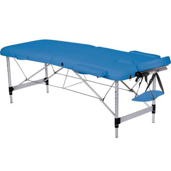 Lettino Pieghevole Massaggio.Lettino Pieghevole Portatile Regolabile Per Massaggio In Alluminio A 2 Sezioni Portata 200kg Vari Colori