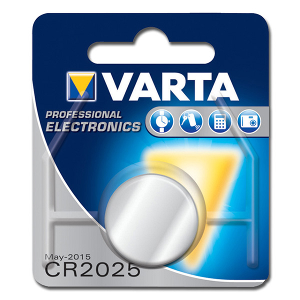BATTERIA LITIO BOTTONE 3V - CR2025 - CR2016 - CR2032
